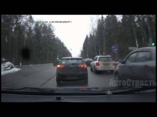 Лучшая подборка ДТП, аварий и приколов на дороге. 22.05.2015 г.