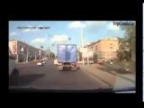 Приколы на дорогах, смешные ДТП