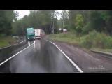 СУМАСШЕДШИЕ грузовики на дороге.