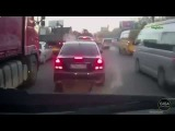 Подборка аварий, ДТП и приколов на дороге. 13.05.2015 г.