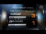 Обзор матча: Футбол. Кубок России. 1/4 финала. Амкар - Динамо 3:1