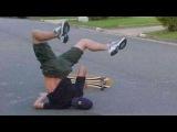 Смешное видео про падения людей  Кто поспешит