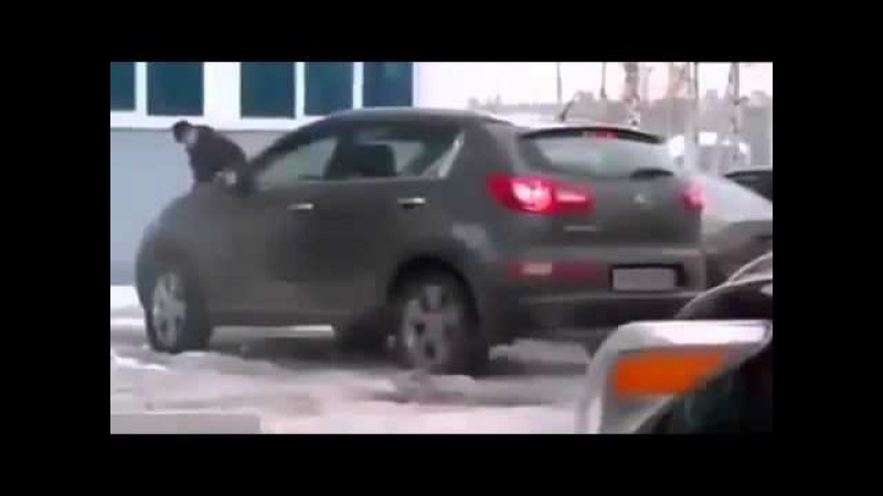 Приколы на дорогах Подборка девушки за рулем 31