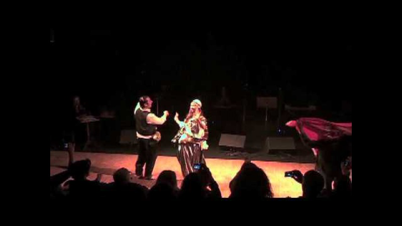 Selma Hakim (Tunisian dancers): Fazzani/ Mezoued (Tunisian Folk Dance).