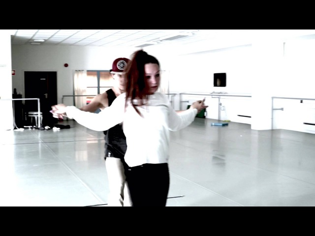 Rehearsal : Hugo Marmelada and Andrea Low. Music: Hermitude - The Buzz (feat. Mataya Young Tapz)