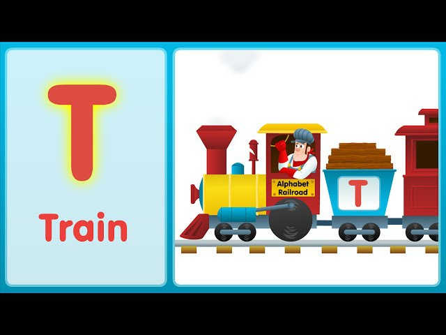 The T Song (Uppercase) | Alphabet Song | Super Simple ABCs