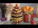 Фруктовая елочка.Ягоды и апельсины.