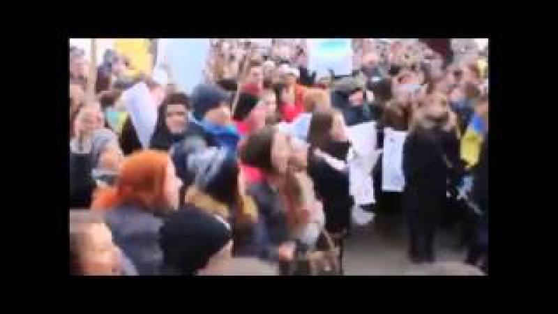 Кто не скачет тот москаль Смешная песня Украина Киев майдан ЕС США бандерлоги
