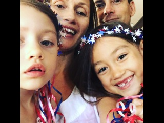 """Maya Le Clark on Instagram: """"Happy 4th of July 🎇🇺🇸from the Clark Family (here's our annual song)! We hope your day is full of fantastical fun, good people, and…"""""""