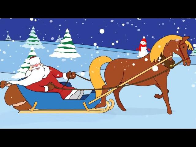 Zeichentrick-Malbuch - Weihnachten