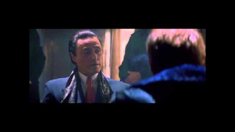 Деннис Хоппер и Кристофер Уокен (эпизод из фильма Настоящая любовь (1993)