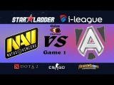 NaVi vs Alliance, Starladder | i-League season 13, groupstage - 13.01.2016 [RU]