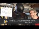 How to Tint a Visor Custom Vacuum Formed PETG Plastic