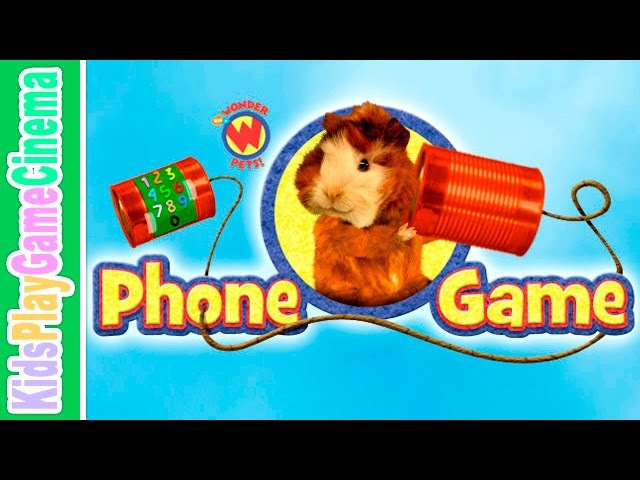 Phone Game Wonder Pets Kids Play Game Cinema