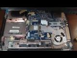 Разборка и чистка Ноутбука Toshiba Satellite A205 S5831 Ижевск