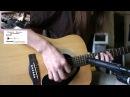 Yamaha F310 Acoustic Guitar 💢 Line 6 PodHD500 Post-Rock Preset. Shure Sm57
