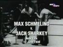 1930.06.12 Макс Шмелинг--Джек Шарки Max Schmeling--Jack Sharkey I