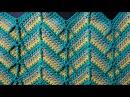 Crochet Zigzag Узор зигзаг Вязание крючком 24