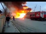 Взрыв на автозаправке в Кизляре. Полное видео (18.03.2016)