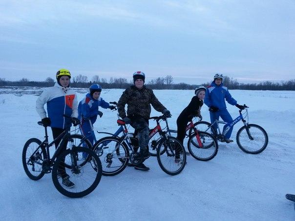 Велосекция-МТВ в городе Оренбурге.