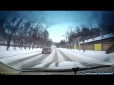 ДТП. Подборка новогодних автомобильных аварий 2016