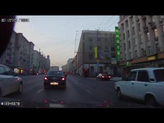 Шашки по Тверской. ДТП