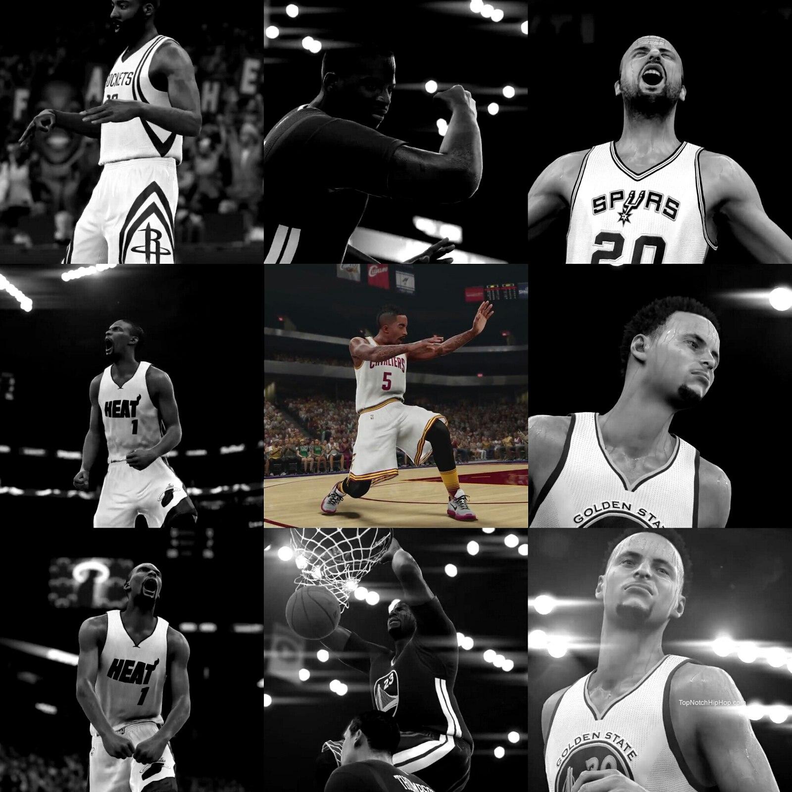 J. R. Smith in NBA game nba2k16 2015