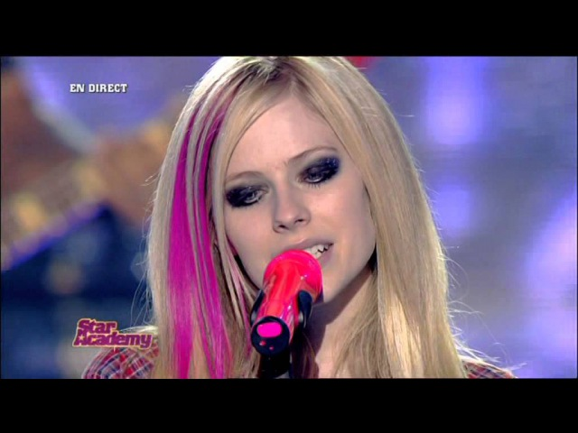 AvrilLavigne - When You're Gone (Live @ Star Academy 02.11.2007)