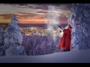 Santa Claus presents Welcome to Rovaniemi my official hometown in Lapland Finland