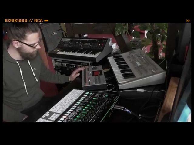 Martin Stürtzer - Roland TR-8 Dub Techno (Moog, Machinedrum)