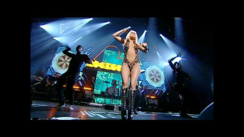 Lady Gaga Poker Face Live at Orange Rockcorps