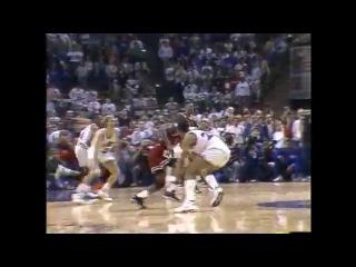 Michael Jordan's Historic Series-Winning Shot on Ehlo - #TBT