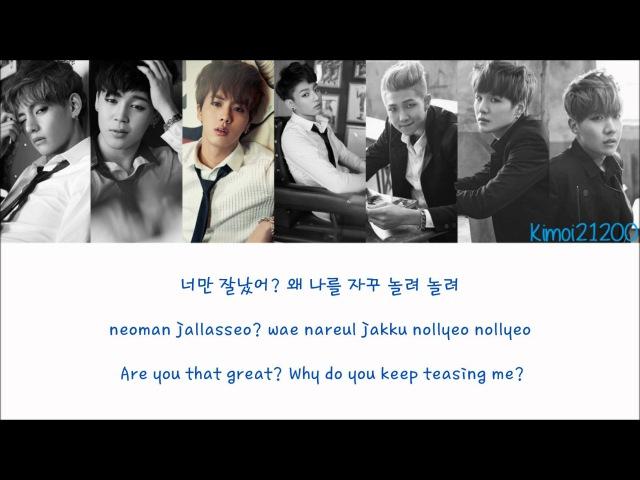 BTS (방탄소년단) - Boy In Luv (상남자) [HangulRomanizationEnglish] Color Picture Coded HD
