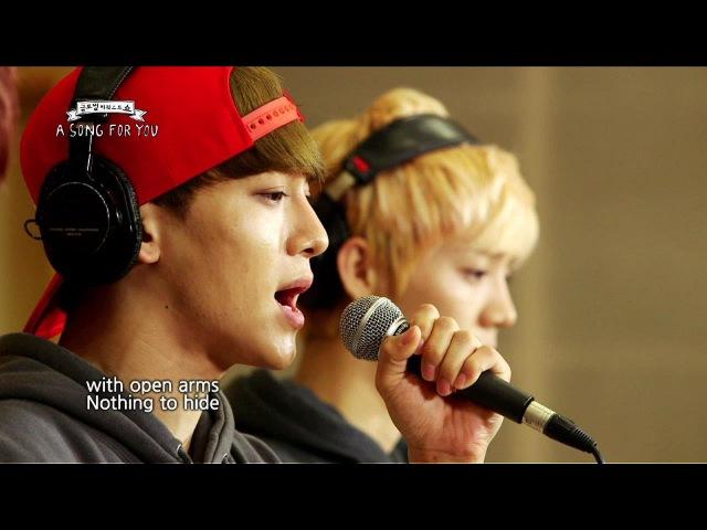 Global Request Show : A Song For You - Open Arms by EXO (2013.08.23) » Freewka.com - Смотреть онлайн в хорощем качестве