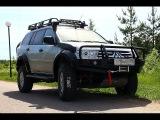 Внедорожная подготовка Mitsubishi Pajero sport 2 off road (тест драйв)
