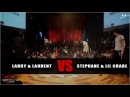 Les twins VS Stephane and Lil crabe - step 1 (clash) | GS FUSION CONCEPT WORLD FINAL | HKEYFILMS
