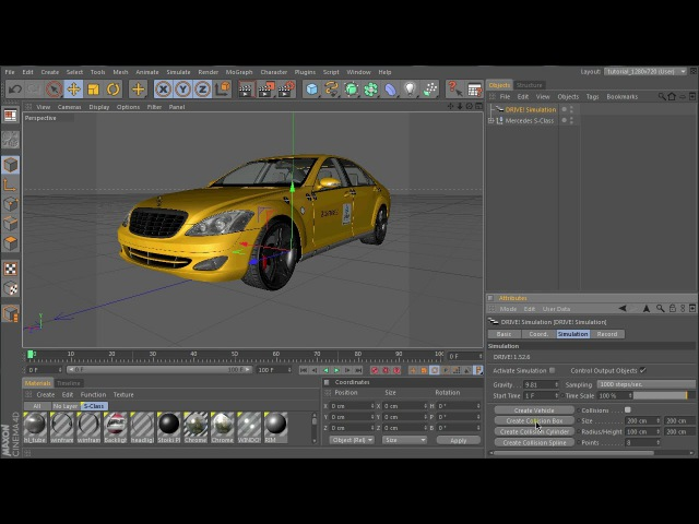 Crash test animation :: Tutorial Part 1