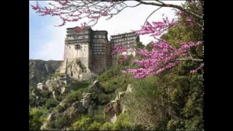 Σιμωνόπετρα • Άγιον Όρος • Αγνή Παρθένε - Simonopetra • Mount Athos • Agni Parthene