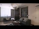 Дизайн однокомнатной квартиры | ЖК Park Stone | SKRIN студия