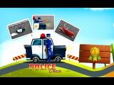 Мультики про машинки Игры для мальчиков и девочек Собираем Полицейскую машину и автобус