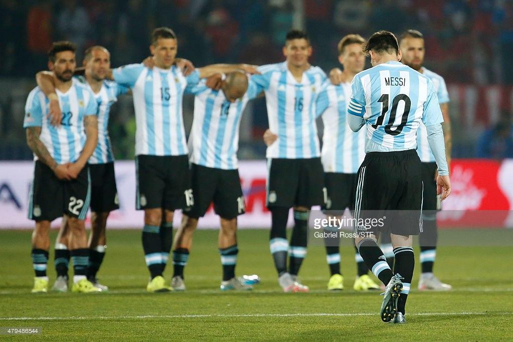 Сборная Аргентины по футболу, Кубок Америки, Лионель Месси, Алексис Санчес, сборная Чили по футболу