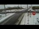 Авария на жд переезде (Северный Казахстан) - ЯПлакалъ