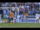 Малага 1-2 Барселона // Гол Месси