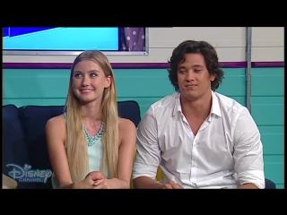 Изабель Дюрант и Чаи Ромруен на австралийском телешоу «Hanging With Adam & Ash» #1