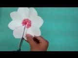 3Д открытка своими руками цветы на 8 марта (1)