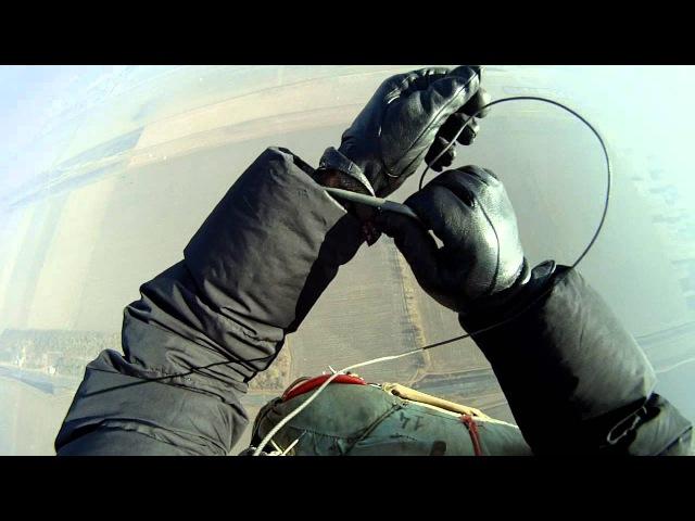 First free-fall - затяжной прыжок (3 сек., 900 м., Ан-2, Д-1-5У)
