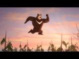 Маша и медведь - Неуловимые Мстители (Кровать - Батут)