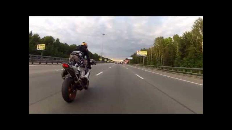 BMW HP4 and Suzuki GSX R 1000 Киевка Ленинский
