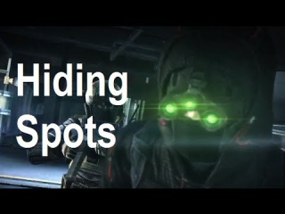 Hiding Spots and Hack Strategies - Spies Vs Mercs - Splinter Cell: Blacklist