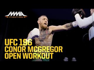 UFC 196: Conor McGregor Open Workout (Complete)